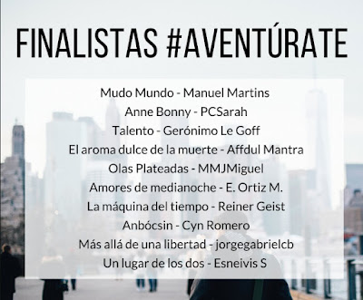 ¡Finalista en #Aventurate!