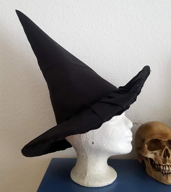 hexenhut nähen, harry potter, halloween, tutorial, hexen hut, anleitung,