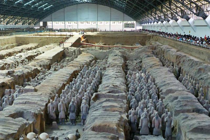 Xi'an Cina esercito terracotta