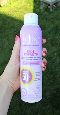 Alba Botanica Kids Continuous Spray Sunscreen SPF 50+