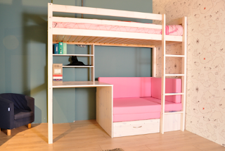 Roze meidenkamer - Roze kleine kamer ...