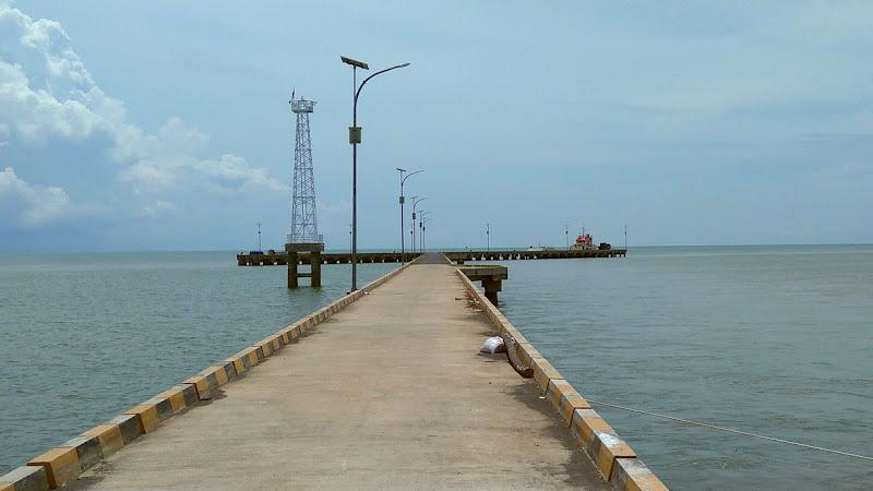 Instalasi Luwes Water Sensor di Natuna Kepulauan Riau