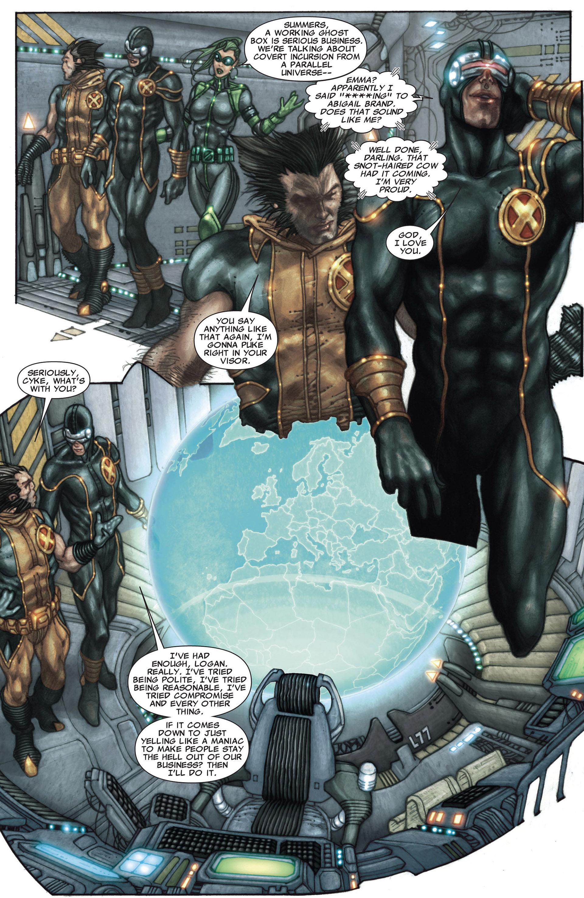 Read online Astonishing X-Men (2004) comic -  Issue #27 - 14