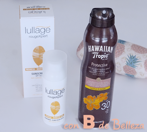 Solar Hawaiian tropic y Lullage