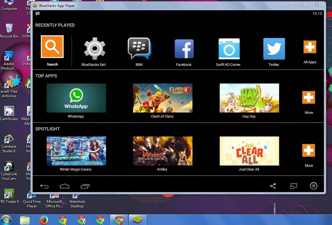 Cara Menggunakan Aplikasi Android di PC atau Laptop