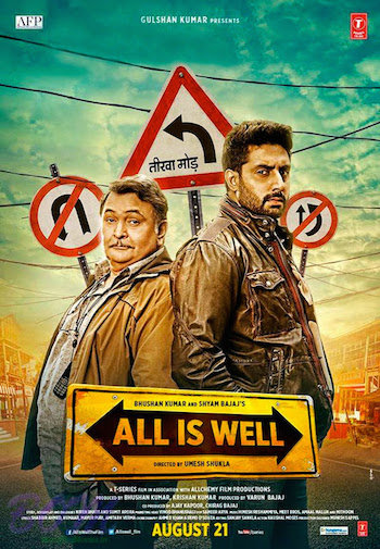 All Is Well (2015) Hindi Movie pDVDRip 300MB