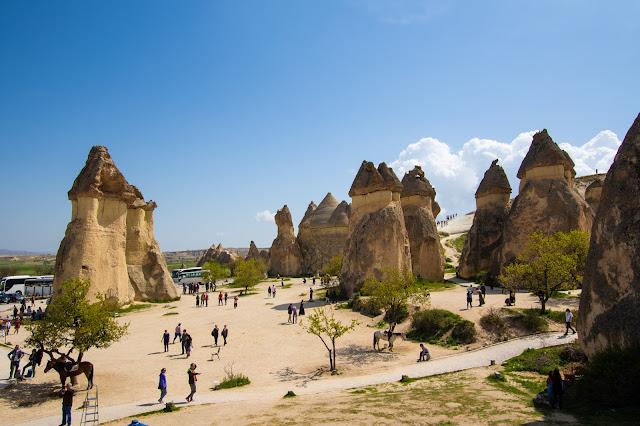 Camini delle fate a Pasabagi-Cappadocia