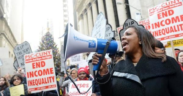 Affordable housing protestors