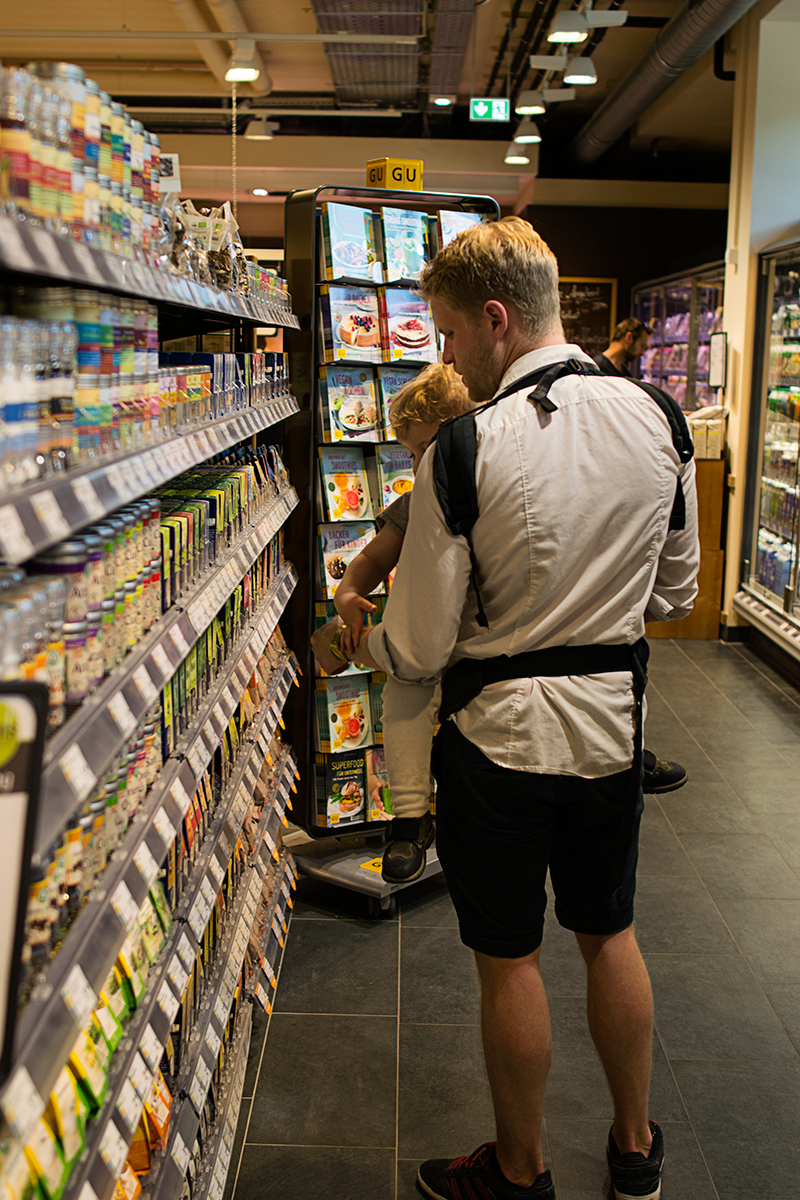 I Berlin finns det massor med välsorterade ekologiska matbutiker.