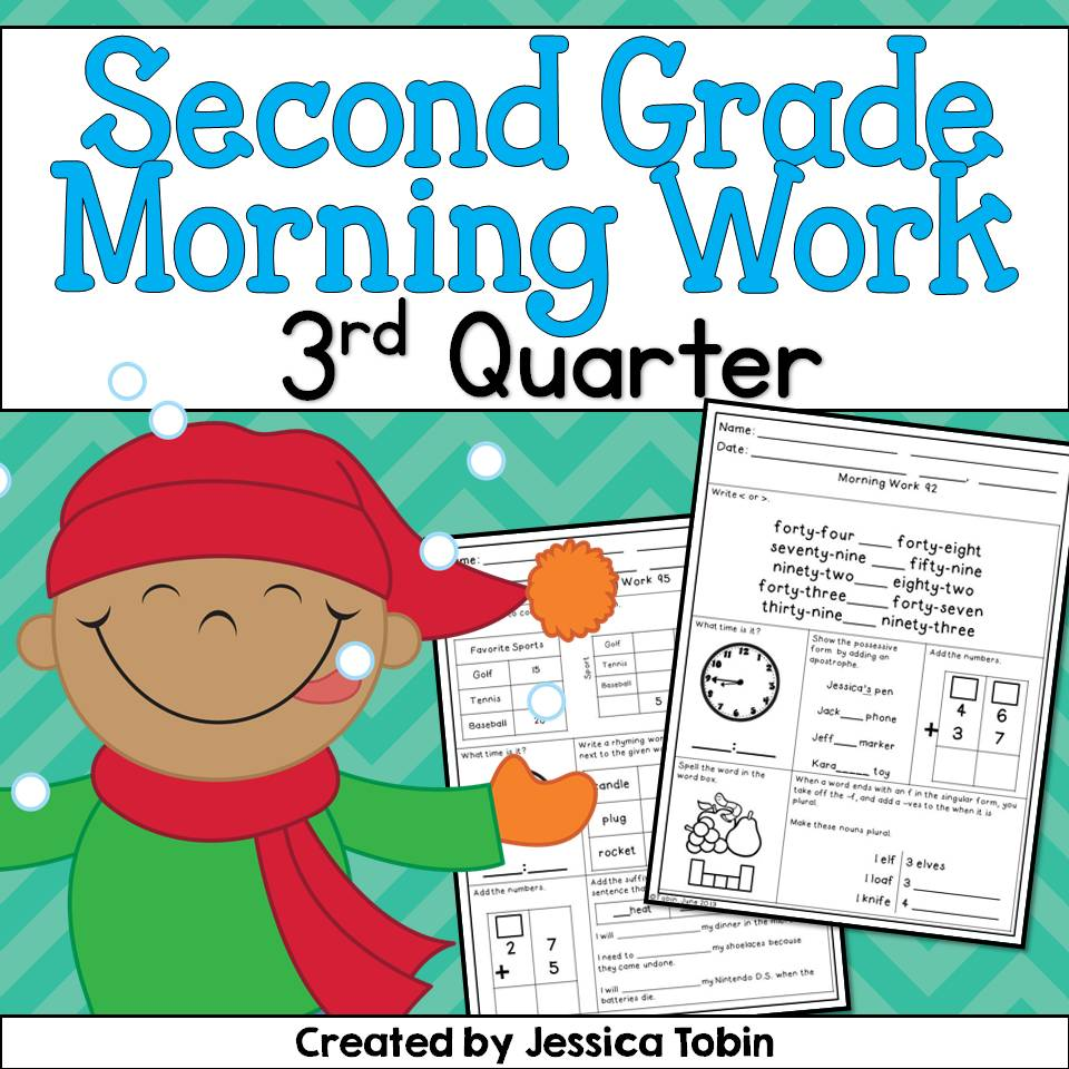 2nd Grade Morning Work!