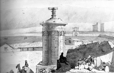 539f655df9 The Lysikratis sponsorship monument (Diogenes Lantern). Publication 1842