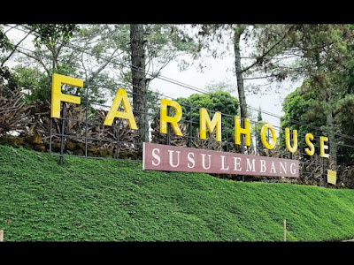 Lokasi Wisata Alam Farm House Susu lembang Bandung