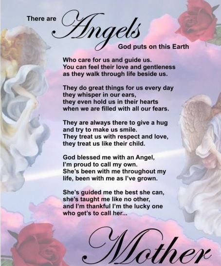 Mother Has Passed Away Quotes: Poems Of Comfort For Loss Of Mother. Comfort Strength And