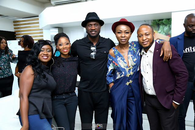 Mr. P (Psquare), Omoni Onoli, Nikki Laoye, Tosyn Bucknor and more turn up for Pedini Kitchen Hangout