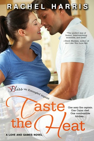 Love and Games - Book Cover - Taste the Heat - Rachel Harris