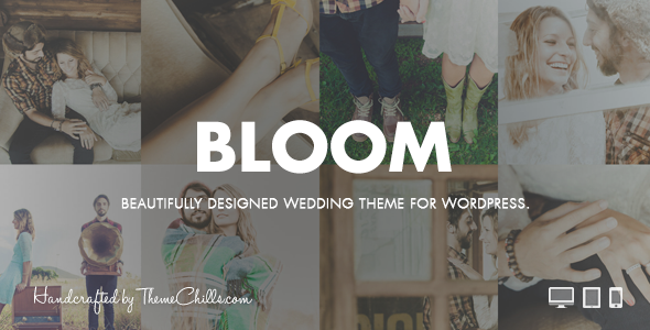 Free Bloom | Responsive Wedding Theme