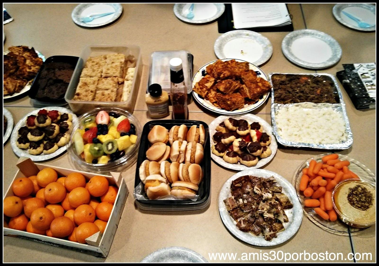 Comida para Compartir en las Clases de Inglés