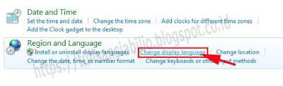 cara mengubah bahasa inggris ke indonesia di windows