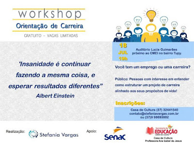 Workshop Orientação de Carreira