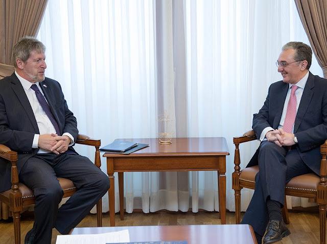 Armenia lista para expandir sus lazos con Israel