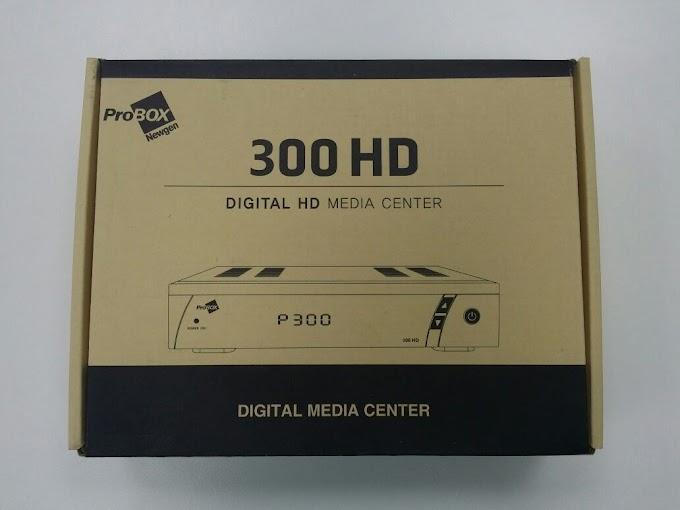 PROBOX 300 HD NOVA ATUALIZAÇÃO V1.11 - 30/03/2017