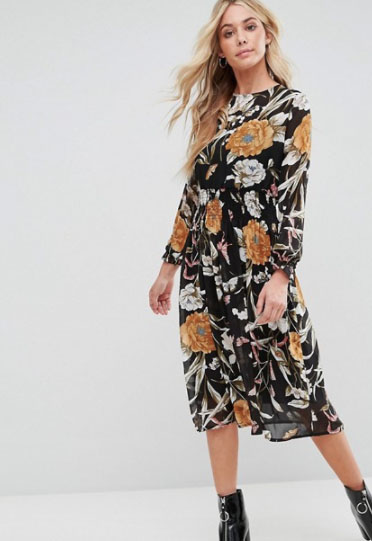 BOOHOO DRESS - AUTUMN DRESS WISHLIST // LAUREN ROSE STYLE// FASHION BLOGGER LONDON