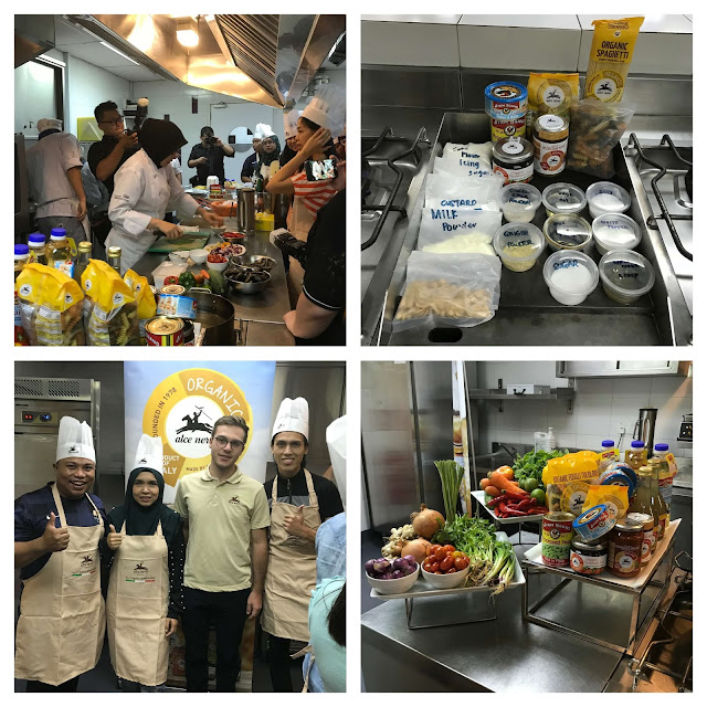 Chef Athira at Cooking Right, Looking Good 2019 event