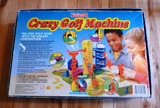 The Crazy Golf Machine board game by Waddingtons