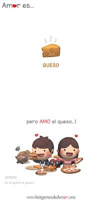 Imagenes de amor por el queso