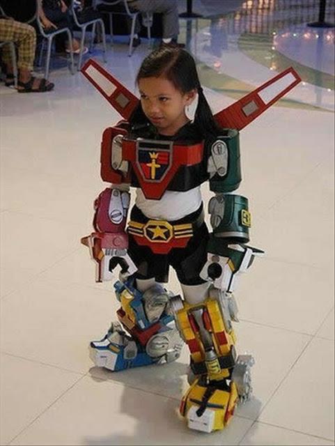 DISFRAZ NIÑA ROBOT
