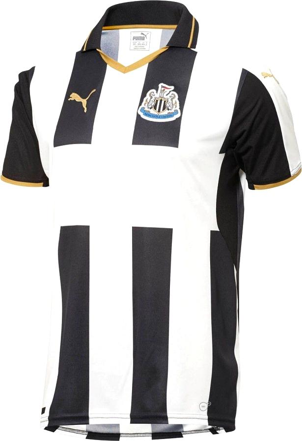 ab65618b66 Puma apresenta novas camisas do Newcastle - Show de Camisas