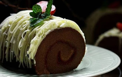 resep kue bolu gulung coklat