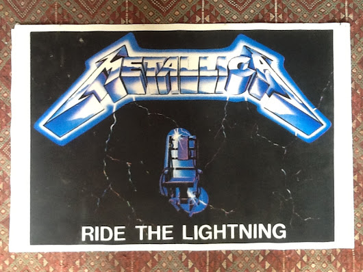 Affiches : Metallica N°7203 Ride the lightning