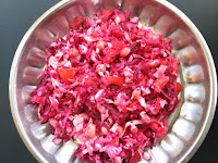 Beetroot, Cabbage, Peanut Sprouts, Tomato, Coconut