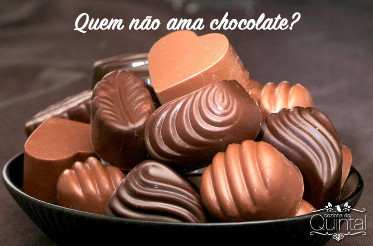 Quem não ama chocolate? Faça e Venda na Páscoa e fature! Foto original Shutterstock, todos os direitos reservados.