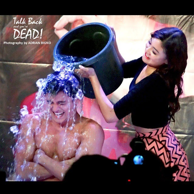 james reid ice bucket challenge