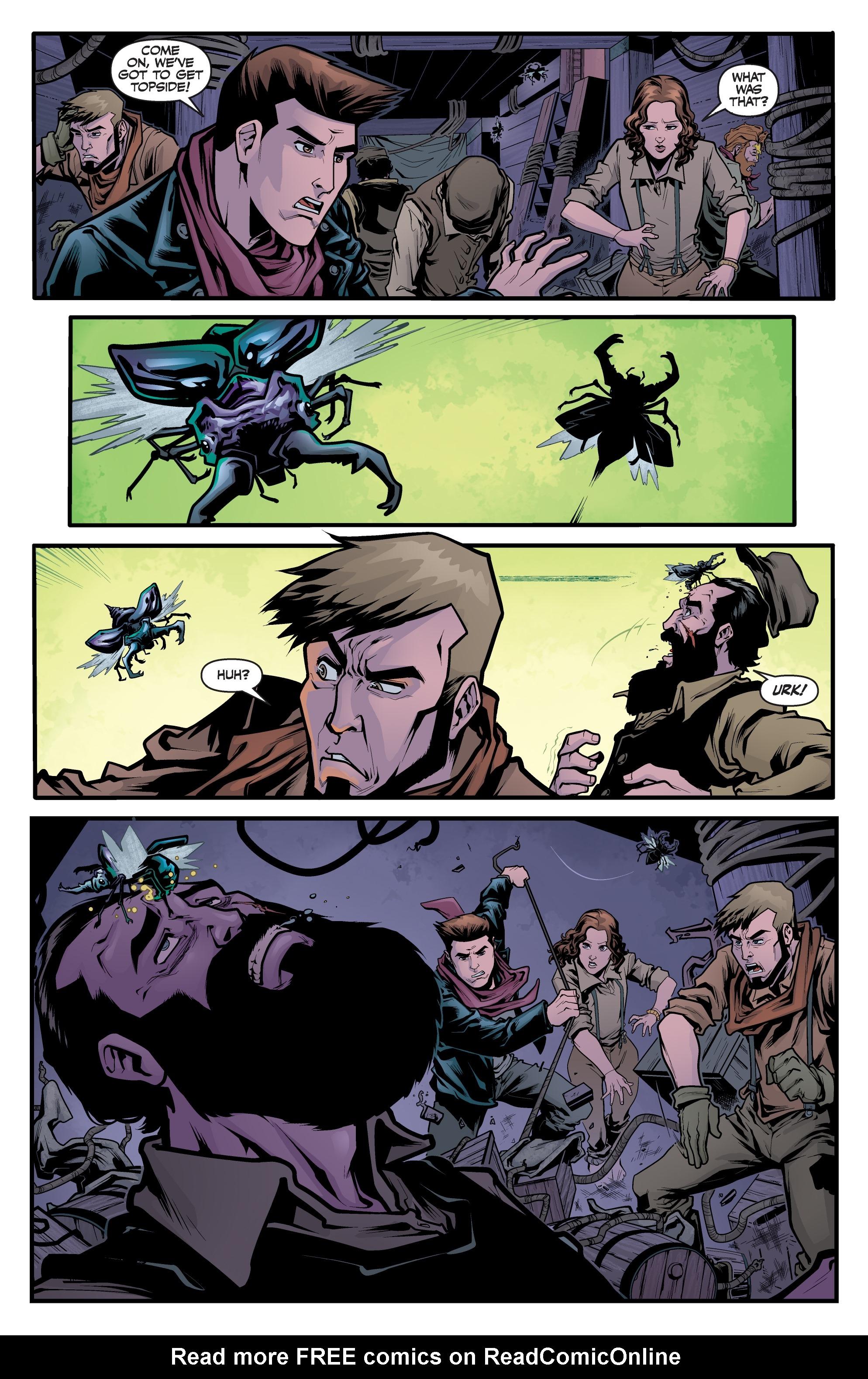 Read online Angel Season 11 comic -  Issue #6 - 15