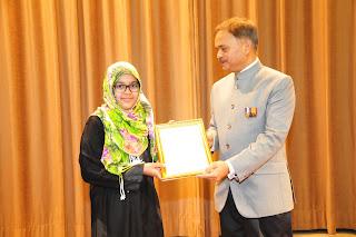 Paryatan Parv winner Embassy Riyadh