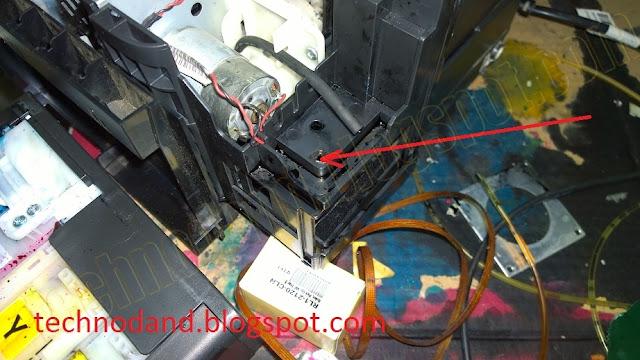 Cara Memasang Tempat Pembuangan Tinta Pada Printer EPSON L110, L300, L310