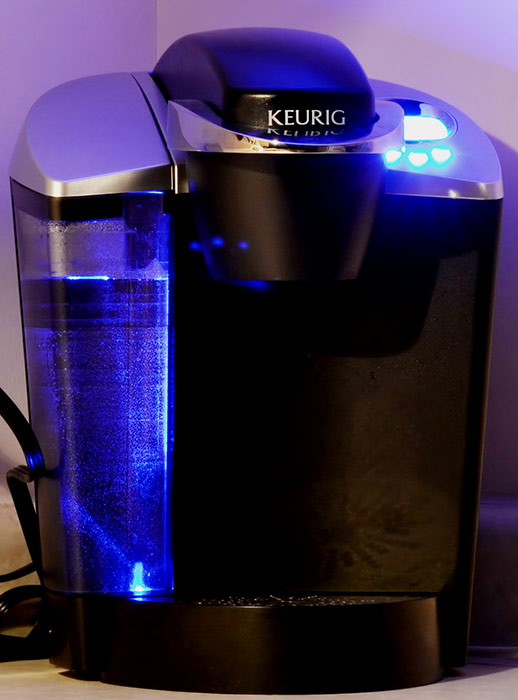 A Keurig Coffee Pot purchased in 2006 or 2007.