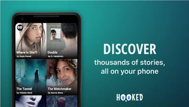 Download & Install HOOKED - Chat Stories Mobile App