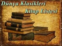 dünya klasikleri listesi