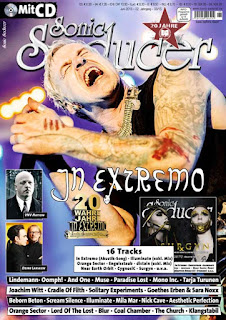 Parralox reviewed in Sonic Seducer Magazine (Germany)