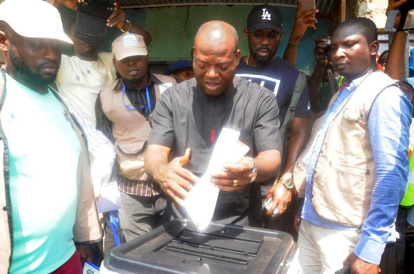 INEC Monitors Collation of Results in Anambra Guber Election