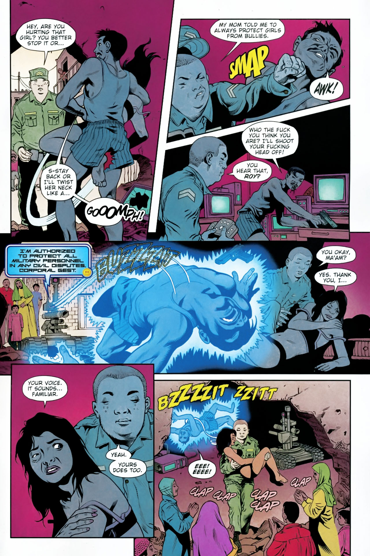 Read online Army @ Love comic -  Issue #12 - 20