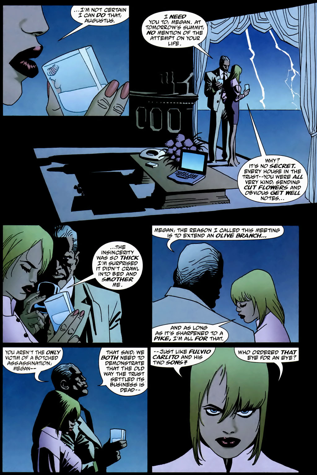 Read online 100 Bullets comic -  Issue #69 - 4