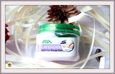 REVIEW OF SSCPL HERBALS LAVENDER HAND & FOOT MASSAGE CREAM ON NATURAL BEAUTY AND MAKEUP