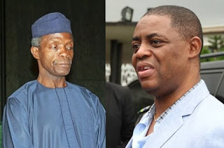 Fani-Kayode reacts as Osinbajo is shut out from Buhari meeting with Northern governors