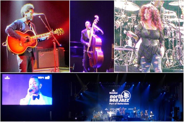 Michael Kinawuka – Ron Carter – Chaka Khan – John Legend en concierto en el Port of Rotterdam North Sea Jazz Festival 2015