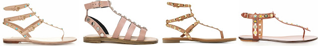 One of these pairs of studded sandals is from Betsyville via Target for only $33 and the other three are for hundreds and one pair is even over one thousand! Can you guess which one is the more affordable pair? Click the links below to see if you are correct!